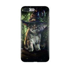 Magic Cat - Coque iPhone 7 Plus Tpu- Kanneja ART - Kinghousse #iphonecase #phonecases #iphone7pluscase #chat #chaton #kittens