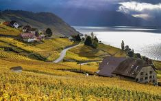 Most Beautiful Villages in Switzerland - For a Perfect Switzerland Vacation! Switzerland Vacation, Swiss Travel, National Parks Usa, Ancient Ruins, Weekend Getaways, Most Beautiful, Places To Visit, Around The Worlds, Country Roads