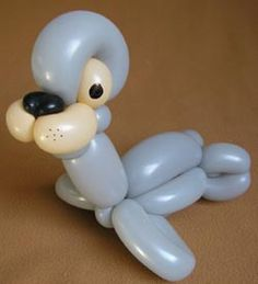 Custom Balloon Designs-Free Balloon Twisting Instructions and Designs. How to make balloon Sealion.
