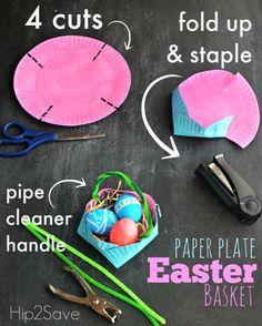 Ostern steht bald vor der Tür. Habt Ihr schon den passenden selbstgemachten Ostereierkorb gefunden? Hier gibt es eine einfachen Osterkorb Anleitung. Noch mehr Ideen für Kinder findet Ihr hier: www.hallbloggi.de