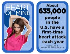 About people in the U.S have a first-time heart attack each year. Heart Disease Facts, Dental Scrubs, Same Day Delivery Service, People In The Us, Lab Coats, Nursing Dress, Heart Attack, Life