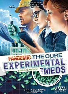 A new release in the Pandemic the Cure line of games.