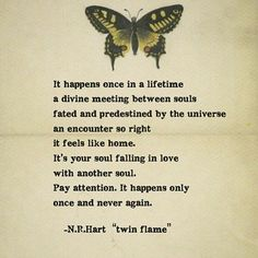 soul falling in lover with another soul -Twin flame Soulmate Signs, Soulmate Love Quotes, Soul Quotes, True Love Quotes, My Soulmate, Crush Quotes, Quotes Quotes, Qoutes, Life Quotes