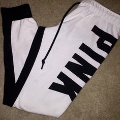VS Pink Joggers EUC. Got in a trade. Offers welcome. Only negotiate through the offer button. PINK Victoria's Secret Pants