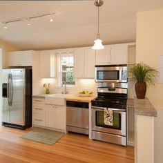 kitchen tiny 1920s cabin design pictures remodel decor and ideas page 5 one wall - One Wall Kitchen Designs