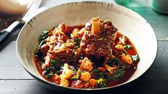 This juicy lamb will melt in your mouth and take you back to the big family dinners you enjoyed as a child. Every vegetable is brimming with flavoursome stock while red chilli adds some spice.