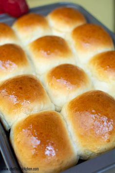 Warm Bread Rolls