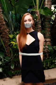 Peyton Roi List and Debby Ryan Tied Up Tape Gagged by Goldy0123 on DeviantArt
