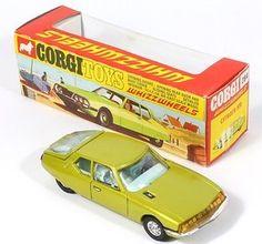 Corgi Toys 284 Citroen SM with Box Vintage Models, Vintage Ads, Amazing Toys, Miniature Cars, Corgi Toys, Matchbox Cars, Metal Toys, Tin Cans, Old Toys