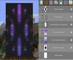 Minecraft Banner Patterns, Cool Minecraft Banners, Cute Minecraft Houses, Minecraft Plans, Minecraft House Designs, Amazing Minecraft, Minecraft Tutorial, Minecraft Blueprints, Minecraft Creations
