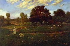 Fall Scene near Sisterdale. Julian Onderdonk, 1909