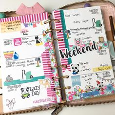 "Nicola  on Instagram: ""Day 24: Week Spread. Last week all finished  #planner #planneraddict #pinkplannergirl #plannergirl #plannerlove #plannerproblems #plannercommunity #plannernerd #plannergeek #plannercrazy #stationeryaddict #stationerylove #ukplanneraddicts #filofax #filolove #filonerd #filogeek #kikkikplanner #kikkikplannerlove #kikkikloves #phgjanplannerchallenge"""