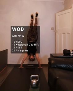 At Home Wods, Wods Crossfit, Crossfit Workouts At Home, Fitness Routines, Workout Routines, Workout Ideas, Fitness Tips, Fitness Motivation, Workout Board