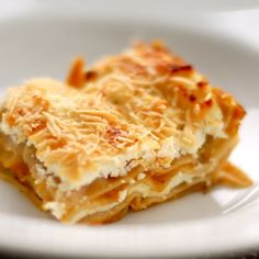 Gluten free Butternut Squash Lasagna #lasagna #glutenfree