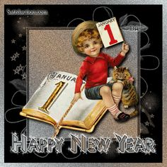 Christmas Carol, Christmas And New Year, Vintage Christmas, Happy New Year Greetings, New Year Greeting Cards, Happy New Year Wishes, Happy New Year 2019, Youtube Happy, Beautiful Flowers Wallpapers