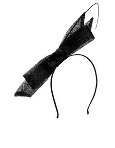 Cheryl Side Bow Band Fascinator | Black | Accessorize