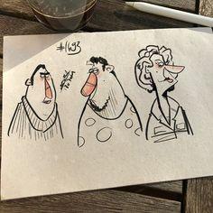 Wednesday morning random sketches n1693 #Procreate #digitalart #ipadproart #characterdesign  #art #draw #draws #cartoon #drawingoftheday #dailydrawing #artwork #dailyart #artoftheday #concept #drawing #arts #sketchbook #conceptart #arts #doodle #illustration #sketch #instaart #instadraw #instaartist #instadaily #sketchbook