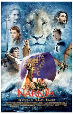 Chronicles of Narnia Dawn Treader Ship Movie Poster 11x17