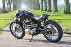 Merlin, a well hidden Kawasaki W650 built by the masters at Old Empire Motorcycles
