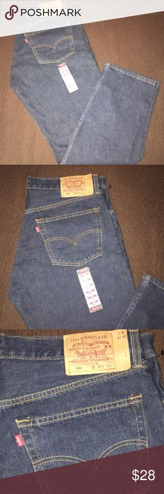 Levi 501 dark wash jeans Brand new with tags men's dark wash Levi 501 jeans. Levi's Jeans Relaxed