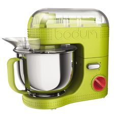 Love this it matches my kitchen perfectly!!!     BISTRO Electric stand mixer, 4.7 l, 160 oz Lime green