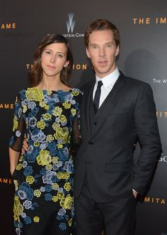 Pin for Later: Benedict Cumberbatch Makes His First Official Appearance With His Fiancée