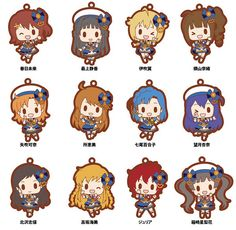 AmiAmi [Character & Hobby Shop] | THE IDOLM@STER Million Live! - Rubber Strap 12Pack BOX(Pre-order)