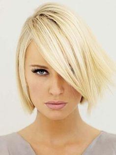 Blonde Glam Bob Hair