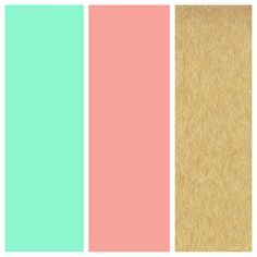 mint green and gold room - Google Search