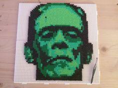 Frankenstein's monster hama perler beads by pjurst