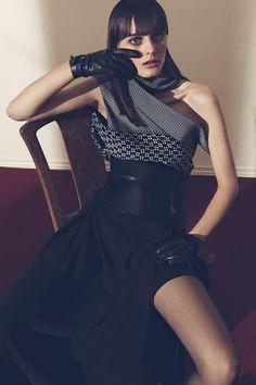 Sibul Nazarenko By Estévez and Belloso For Qvest Magazine December2013 - 3 Sensual Fashion Editorials | Art Exhibits - Anne of Carversville...