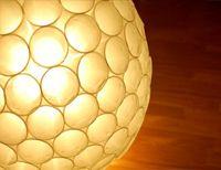 plastic cup lamp.