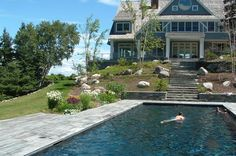 Rock Steps Landscaping   ... Residence – Pool side plantings and various landscape improvements