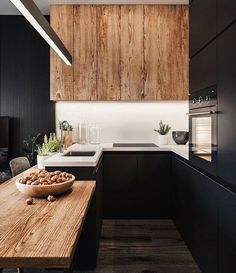 New Kitchen Interior Design White Woods Ideas Kitchen Wall Colors, Kitchen Layout, Home Decor Kitchen, Interior Design Kitchen, Home Design, New Kitchen, Kitchen Wood, Design Ideas, Kitchen Ideas