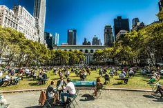 New York kostenlos Bryant Park