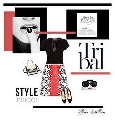 """""""Color Pop"""" by breenelson-style ❤ liked on Polyvore featuring Vince, J.W. Anderson, Gianvito Rossi, Alice + Olivia and Kate Spade"""