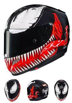 HJC Marvel Motorcycle Helmet RPHA 11 Pro Spiderman Venom