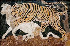 Лучших изображений доски «opus sectile»: 16 roman mosaics mosaic