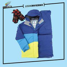 Guantes, 7Veinte - Chaqueta de nieve niño, Billabong - Pantalón de nieve niño, Billabong.
