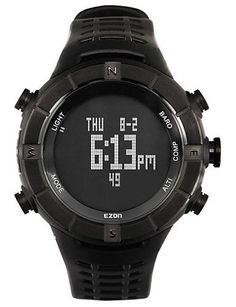 Ezon Frauen und Männer sport multifunktionale Chronograph Leucht Kompass Thermometer wasserdichte Uhr H001 - http://uhr.haus/weiq/ezon-frauen-und-maenner-sport-multifunktionale-10