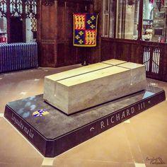 The tomb of King Richard III.Leiciester