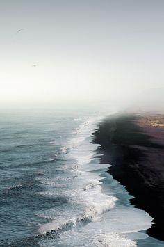 dark sand beaches // Manuel Irritier