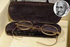 Gandhi's glasses and sandals sell for $1,800,000.00