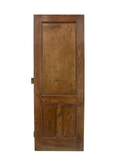 Antique 3 Panel Chestnut Passage Door 86.25 x 31.5 Arched Doors, Panel Doors, Entry Doors, Cabinet Doors, Tall Cabinet Storage, Antique Interior, Antique Doors, Pocket Doors, Closet Doors