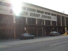 the previous Spencer Street Station building, demolished in 2004 to make way for the new Southern Cross Station