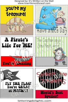 (Freebie) 48 Lunchbox Notes for boys AND girls