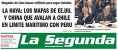 Primer día de alegatos. Perú - 03.12.12 (La Segunda - Chile - 04.12.12). #LaHaya #Peru #Chile