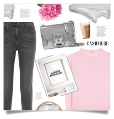 """Easy Like Sunday Morning"" by marina-volaric ❤ liked on Polyvore featuring Miu Miu, Alexander Wang, Prada Sport, Proenza Schouler, Rosendahl and cashmere"