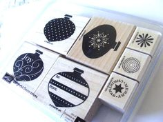 Delightful Decorations Retired Stampin Up Stamp Set by SiriusFun, $9.50