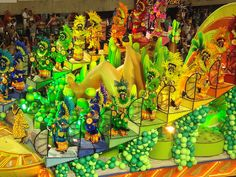 rio de janeiro festival | Tarsila do Amaral homenageada no Carnaval Rio de Janeiro Carnival ...